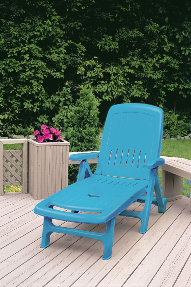 17 meilleures id es propos de peindre des chaises en - Peinture salon de jardin ...
