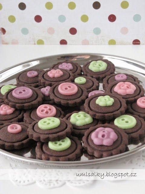 U mlsalky: Kakaové sušenky s pomerančovým nádechem a marcipánem