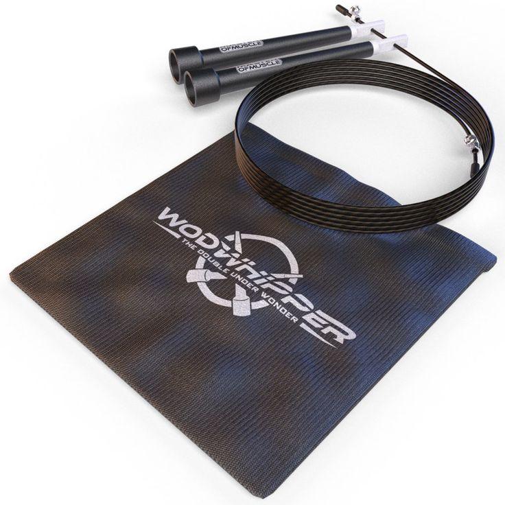 Speed Rope Springseil - High Speed Seil, Perfekt Für Double Unders - Optimal Für Crossfit - WODs - Boxtraining - MMA und Fitness - Beinhaltet ein *GRATIS* Workout Ebook Plus Tragetasche - Lebenslange Garantie - Besser als Geld-Zurück-Garantie