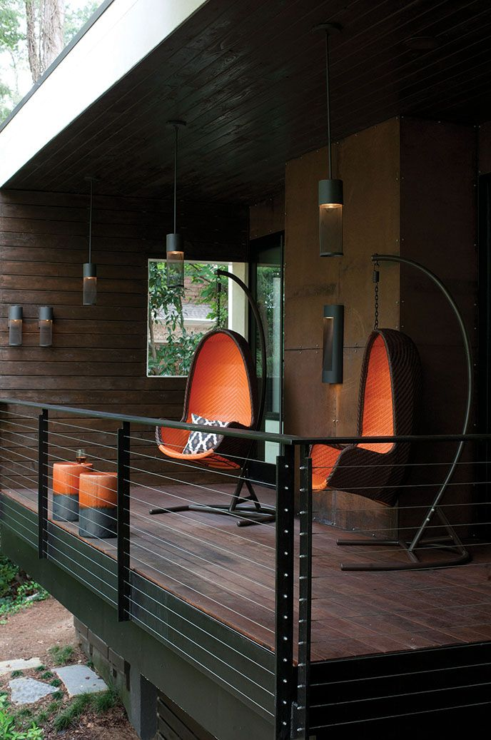14 best outdoor lighting images on pinterest exterior lighting first floor deck done in brazilian hardwood oil soaked cable railing to match windows in dark brown will use hinkley lighting in aria led mozeypictures Choice Image