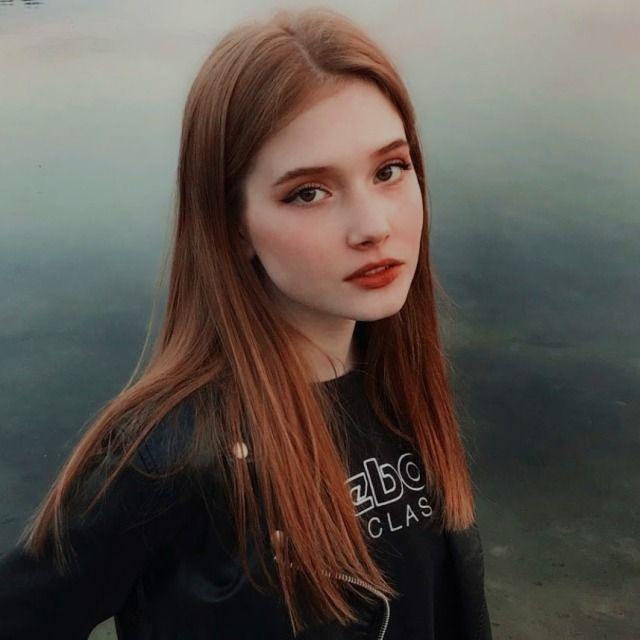 Katya Sitak Explore Tumblr Posts And Blogs Tumgir Beautiful Girl Face Beautiful Red Hair Aesthetic Girl