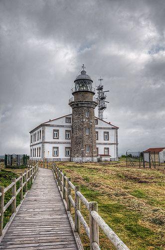 Lighthouse – Faro de Cabo Peñas, Asturias (Spain), HDR | Flickr - Photo Sharing!