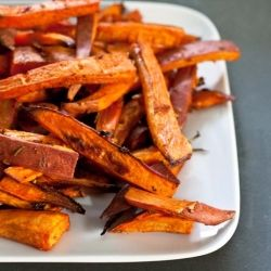 sweet potato fries soaked in beer, #food