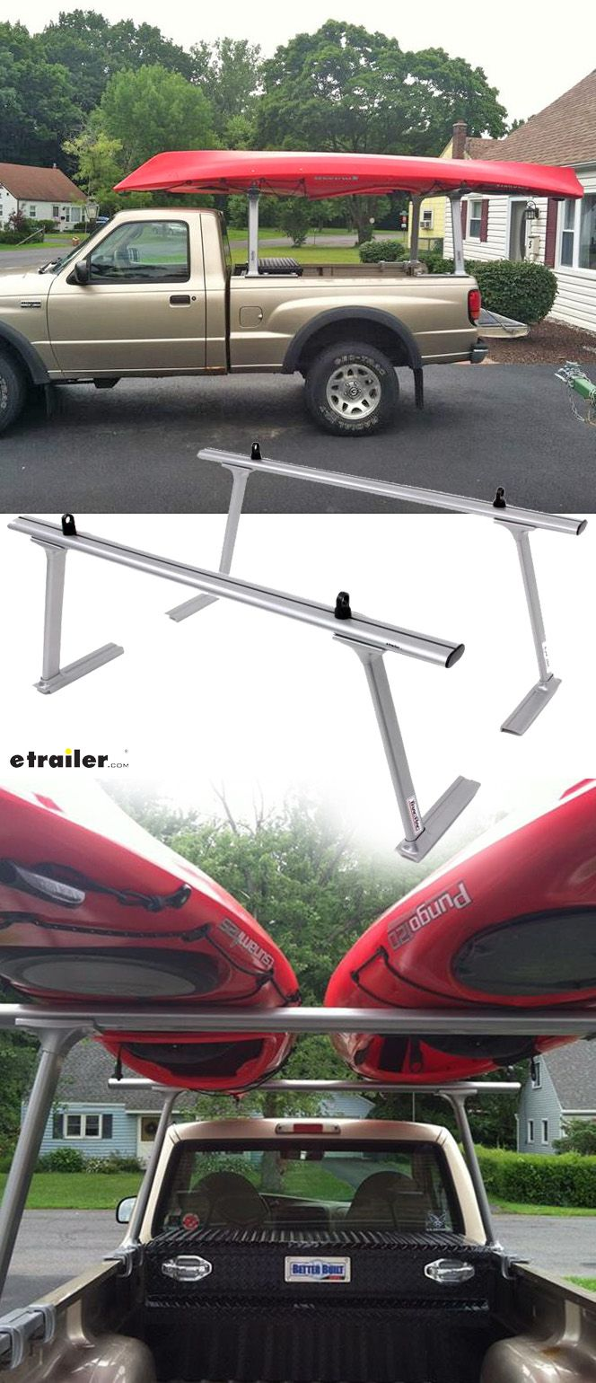 Thule Tracrac Tracone Truck Bed Ladder Rack Fixed Mount 800 Lbs Silver Thule Ladder Racks Th27 Canoe Rack Ladder Rack Truck Lumber Rack
