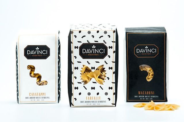 DaVinci Pasta (Student Project) on Packaging of the World - Creative Package Design Gallery
