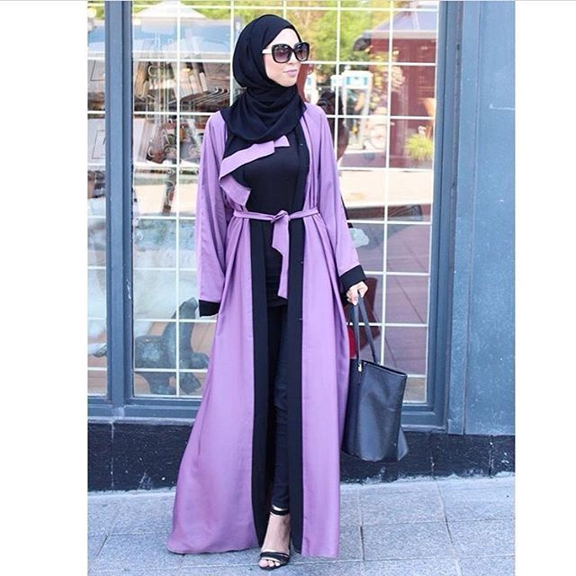 Beautiful Abaya from @arabesque.abayas Check out their page for so many orher designs