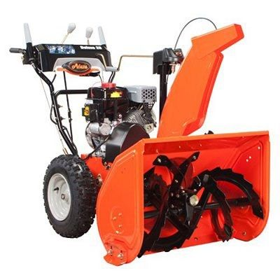 ARIENS  ST28LE Snow Blower. Dual stage and ready to go. Read our Review @ www.pickmymower.com