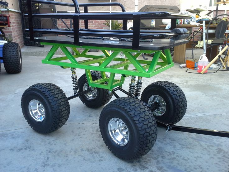 Monster Wagon By Baja Wagon Custom Wagons Pinterest