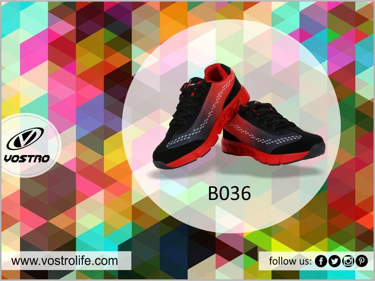 Vostro B036 at Rs. 999/- #DealOfTheDay Buy Now : http://vostrolife.com/vostro-b036-black-red-men-sports-shoes-vss0173