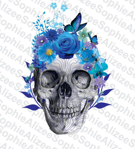Check out this item in my Etsy shop https://www.etsy.com/listing/503442137/printable-skull-clip-art-jpg-png-pdf