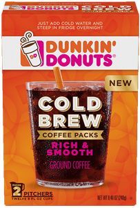 $1.50 off Any Dunkin' Donuts Cold Brew Product Coupon on http://hunt4freebies.com/coupons