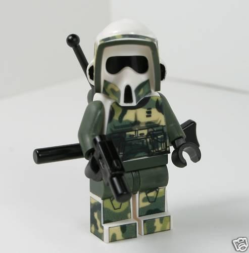 Lego Star Wars Camo Scout Kashyyyk Trooper Custom Mini Figure RARE   eBay