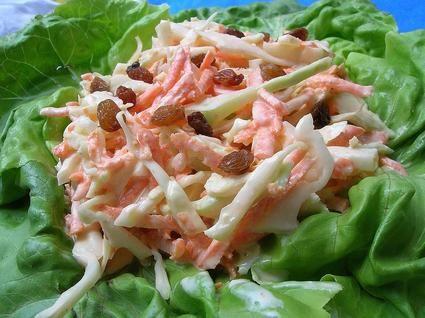 Salade de chou Coleslaw : la recette facile