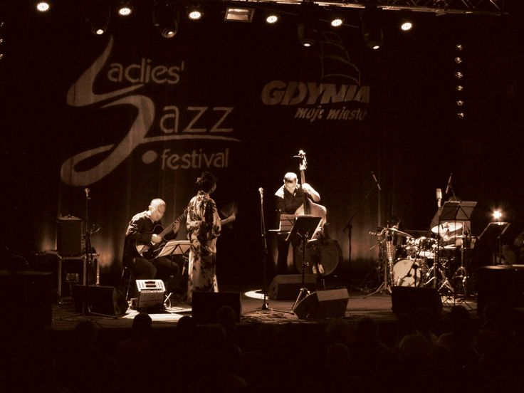 Finałowy koncert w ramach Ladies' Jazz Festival 2013 w Gdyni uświetniła nam Akiko.