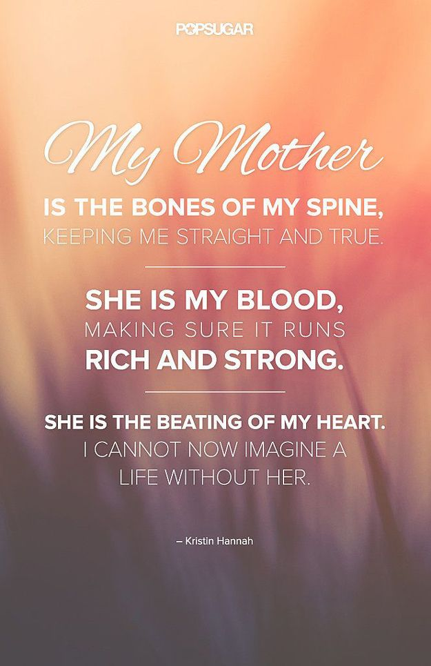 Short and Sweet Mother's Day Quotes | DIY Gifts for Mom by DIY Ready at http://diyready.com/diy-gifts-mothers-day-quotes/