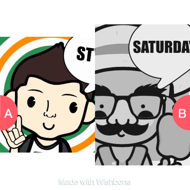 Which one looks best  Click here to vote @ http://getwishboneapp.com/share/14037010