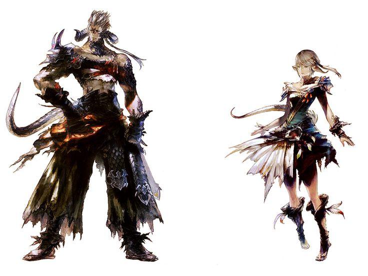 Final Fantasy XIV: Heavensward - Au Ra