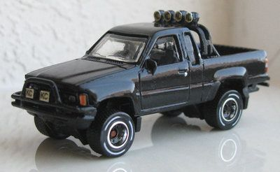 Toys Back To The Future Toyota Truck 1985 Toyota 4x4