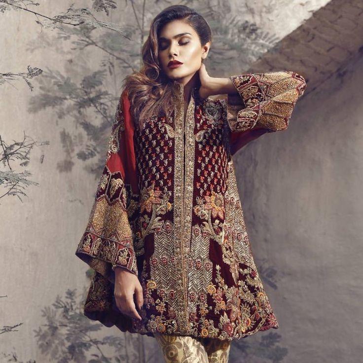 Pakistani couture Farah & Fatima Couture: Shahnoor F/W 2016