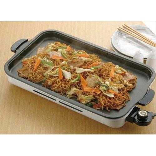 Мелкая бытовая техника : KS-2605 Прямоугольная электрическая плита для мяса, овощей, лапши (большая)