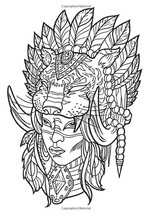 The Tattoo Designs Creative Colouring For Grown Ups