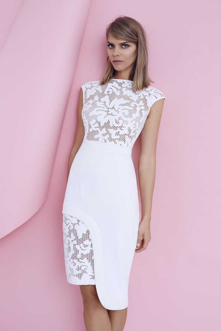 SHEIKE Heidi lace Dress (available in Ivory) $159.95