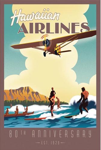 vintage hawaiian airline