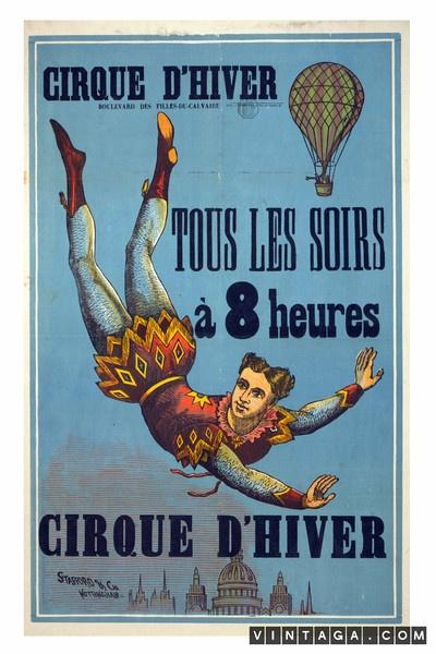 Cirque d'Hiver - Tous Les Soirs a 8 Heures