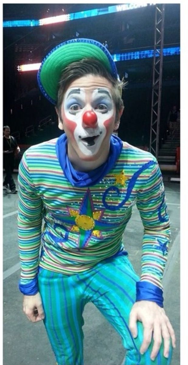 Ringling Bros. And Barnum And Bailey Circus clown