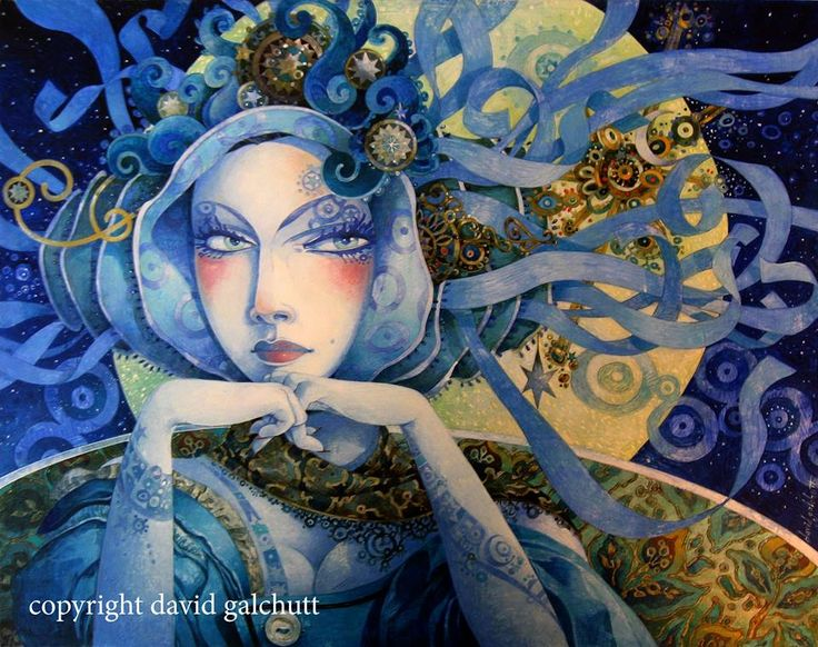 Queen of the Night, based on Mozart's the Magic Fute. Artist David Galchutt