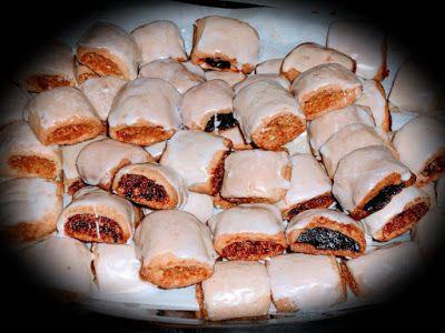 Raccontare un paese: le mie ricette: biscotti ripieni con glassa