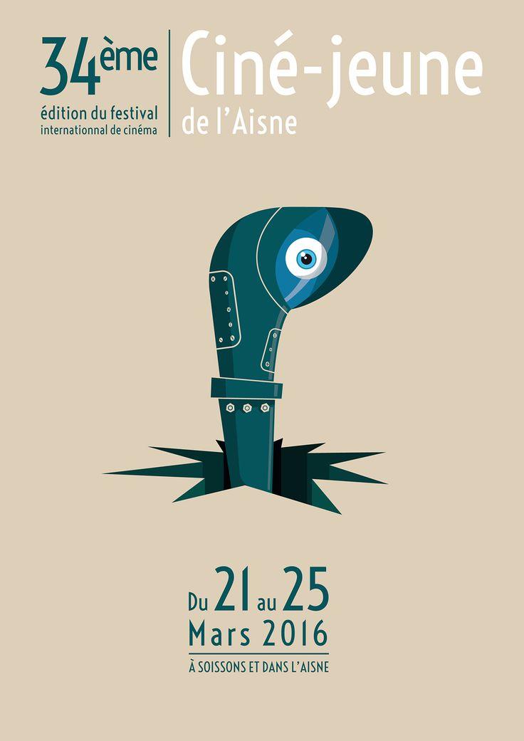 Concours Ciné Jeunes de l'Aisne, Erwan LAUDAT sélectionné dans les 6 premiers @ 3e année 2015