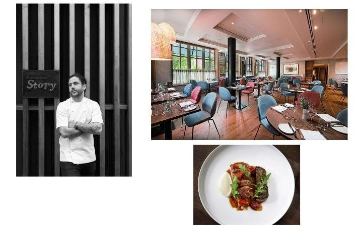 """It has to be Elystan Street. Phil Howard is one of the greatest chefs of the last decade and he's cooking food that he loves and it shows. It's also a great addition to Chelsea"". Tom Sellers chef patron of Story"