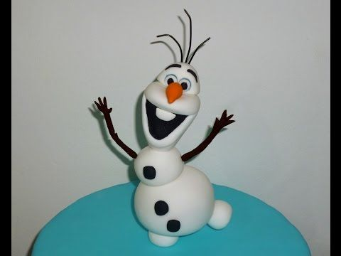 How to make Olaf from Frozen / Cómo hacer a Olaf de Frozen - YouTube