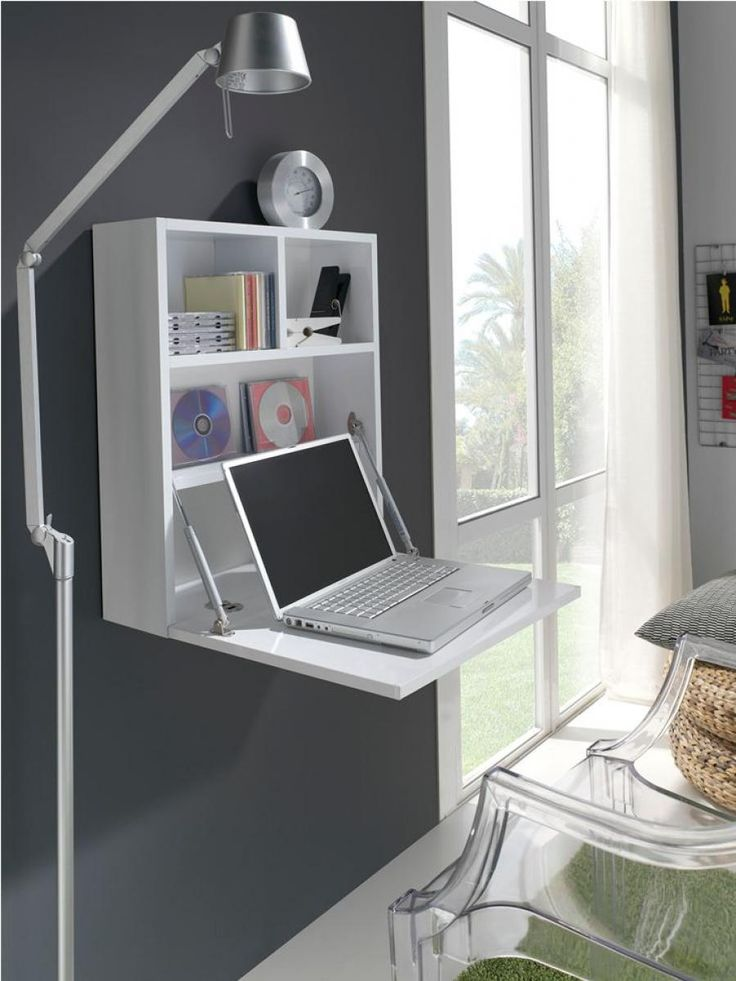 Wall Mounted Laptop Workstation