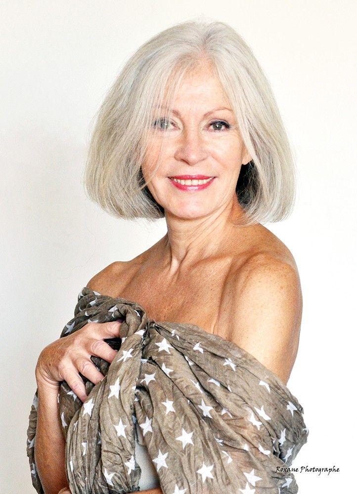 les 154 meilleures images du tableau silver sur pinterest cheveux blancs cheveux gris et. Black Bedroom Furniture Sets. Home Design Ideas