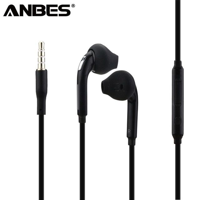 5e21d1c68ac ANBES 3.5mm Stereo Music Headphones Portable Earphone Wired In-Ear Headset  no bluetooth with Microphone for Xiaomi iPhone Review