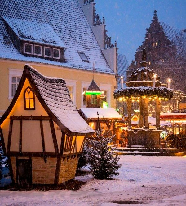 Christmas market in Herford, Germany | by Ute Bartels