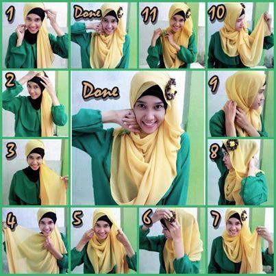 Pashmina Hijab Tutorial   How to Wear it?