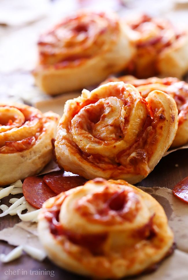 These Pizza Roll Ups are SO simple and a family favorite! Picky eaters love them! They are super delicious!