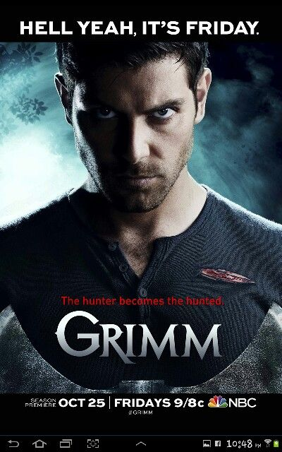 Grimm ... Missing watching our favorite show together!!! Soon my love. Soon.