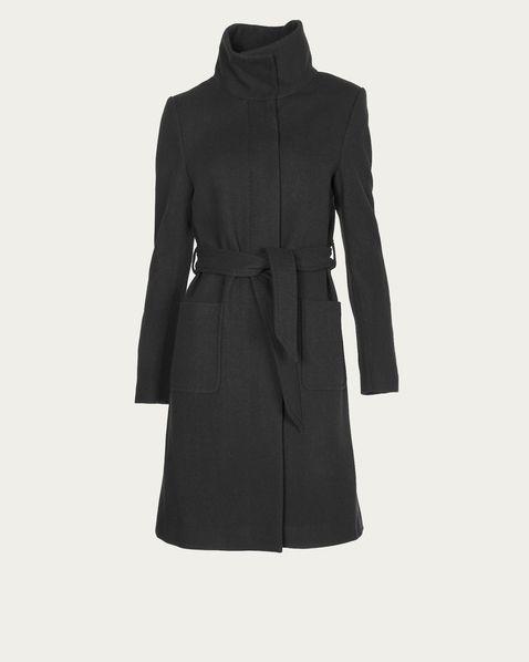 FILIPPA K Mantel Esther Belt Coat black