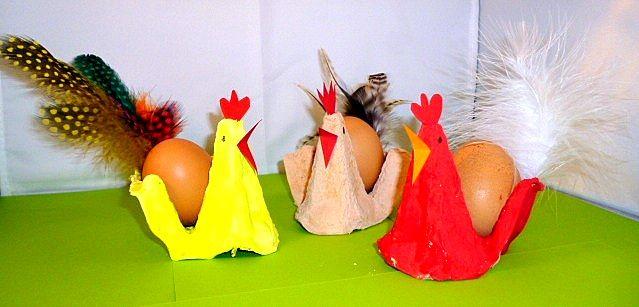 Lieder/basteln-Hahn-und-Hennen-aus-Eierkartons