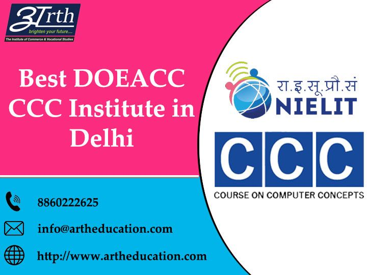 Pin by Artheducation on Best DOEACC CCC Institute in Delhi