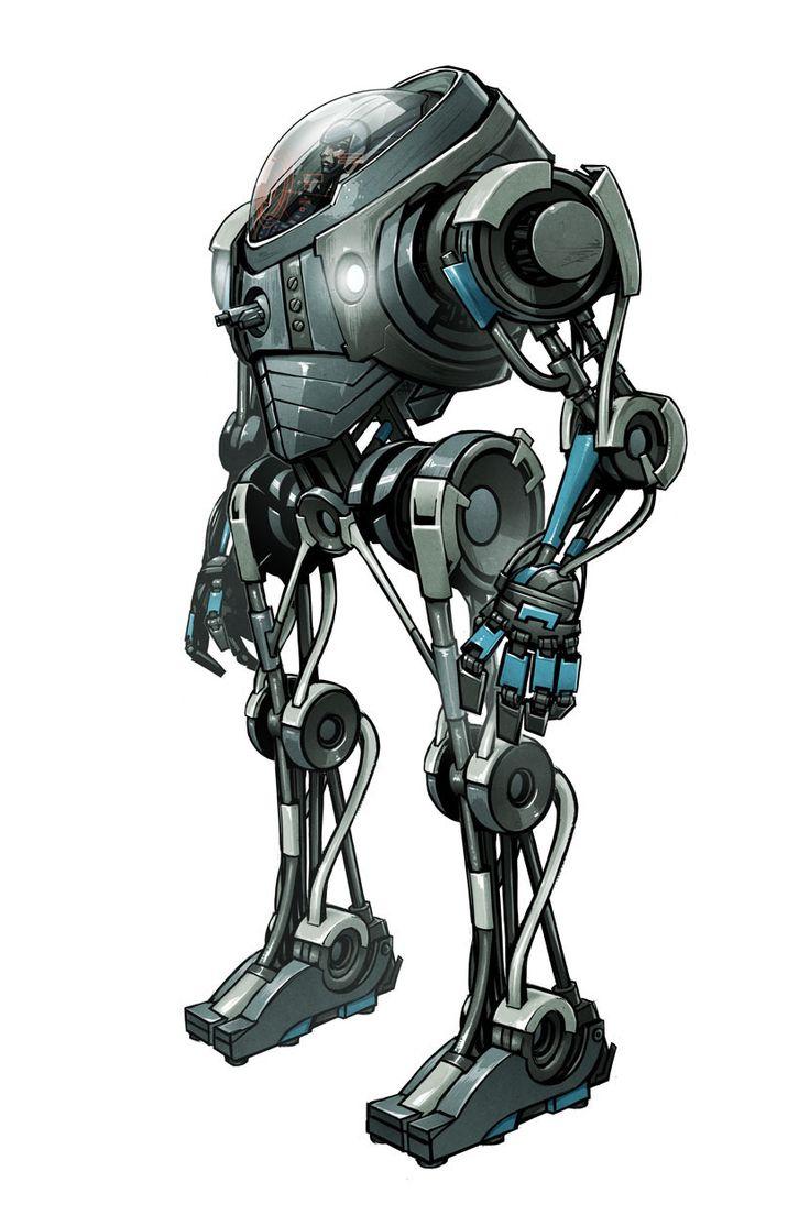 Sci-Fi Concept Mech