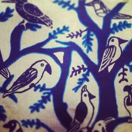 embroidered indigo Indalo 2014