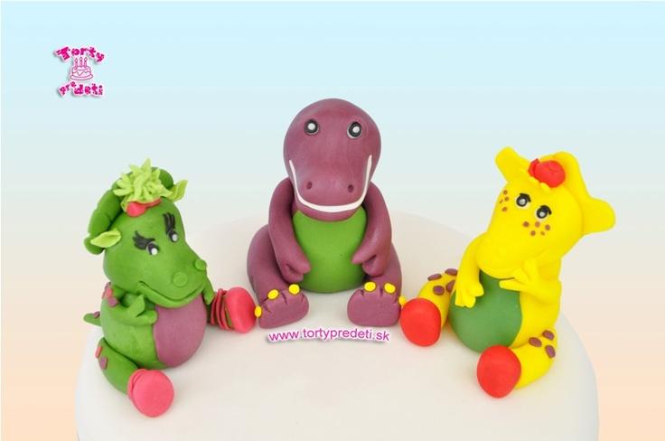 Torta Barney a priatelia | Cake Barney & friends