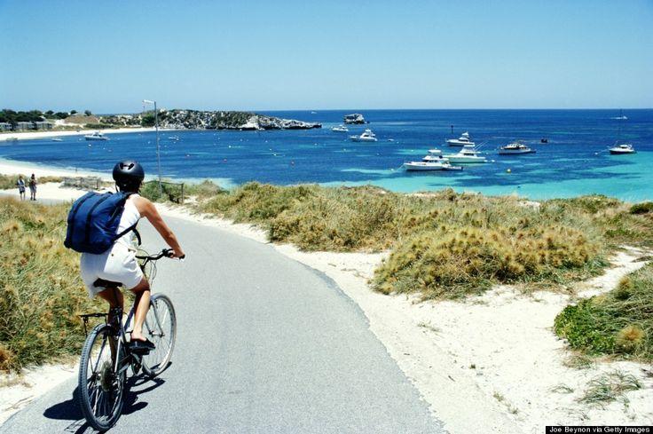 Australia's Hidden Gem: Rottnest Island has wonderful beaches and Quokkas!