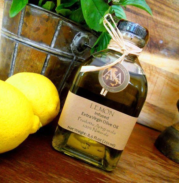 how to make lemon infused olive oil