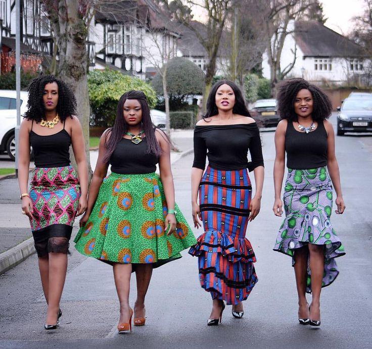 Ways to rock Ankara skirt
